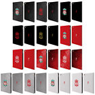 OFFICIAL LIVERPOOL FC LFC CREST 1 LEATHER BOOK WALLET CASE COVER FOR APPLE iPAD