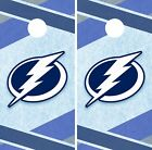 Tampa Bay Lightning Cornhole Wrap NHL Hockey Game Skin Set Vinyl Decal CO313 $39.95 USD on eBay