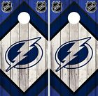 Tampa Bay Lightning Cornhole Wrap NHL Vintage Game Skin Set Vinyl Decal CO316 $39.95 USD on eBay