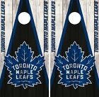 Toronto Maple Leafs Cornhole Wrap NHL Vintage Game Skin Set Vinyl Decal CO321 $59.95 USD on eBay