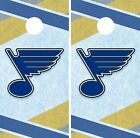 St. Louis Blues Cornhole Wrap NHL Hockey Game Board Skin Set Vinyl Decal CO356 $39.95 USD on eBay