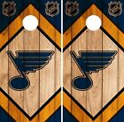St. Louis Blues Cornhole Wrap NHL Game Board Skin Set Vinyl Decal CO357 $39.95 USD on eBay