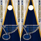 St. Louis Blues Cornhole Wrap NHL Vintage Game Board Skin Set Vinyl Decal CO358 $59.95 USD on eBay