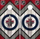 Winnipeg Jets Cornhole Wrap NHL Wood Game Board Skin Set Vinyl Decal Art CO364 $39.95 USD on eBay