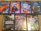 Playstation 2 games 7 total. Ghost recon,grand theft auto vice city...