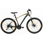 "27.5"" Mountain Bike 21 Speeds Bicycle Dics Break Steel Frame in 3 color"
