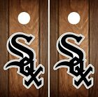 Chicago White Sox Cornhole Wrap MLB Game Board Skin Set Vinyl Decal Art CO383 on Ebay