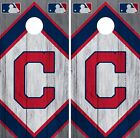 Cleveland Indians Cornhole Wrap MLB Vintage Game Skin Set Vinyl Decal CO388 on Ebay