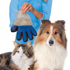 Pet Dog Cat Grooming Glove Dirt Hair Remover Brush Glove for Gentle Deshedding!