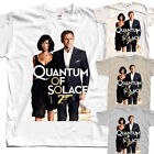 James Bond 007: Quantum of Solace, poster, T-Shirt (WHITE) All sizes S to 5XL $23.97 CAD on eBay