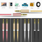 High Quality AUX Cable 3.5mm Male to Male Cable for Car AUX/Headphone/MP3-1M/3ft