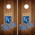 Kansas City Royals Cornhole Wrap MLB Wood Game Skin Set Vinyl Decal Art CO407 on Ebay