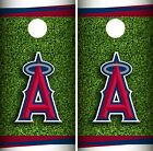 Los Angeles Angels Cornhole Wrap MLB Field Game Board Skin Set Vinyl Decal CO410 on Ebay