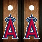 Los Angeles Angels Cornhole Wrap MLB Game Board Skin Set Vinyl Decal Art CO413 on Ebay