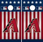 Arizona Diamondbacks Cornhole Wrap MLB America Game Skin Set Vinyl Decal CO457 on Ebay