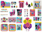 party favors and decorations - Trolls Party Decorations, Tableware and Novelties