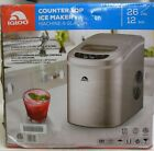 Igloo Counter Top Ice Maker ICE102C Silver photo