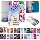For Allview V3 Viper Wallet Bag Flip Case Cover Wings Tower Insect Leopard Love
