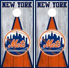 New York Mets Cornhole Wrap MLB Vintage Game Board Skin Set Vinyl Decal CO504 on Ebay