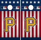 Pittsburgh Pirates Cornhole Wrap MLB America Game Skin Set Vinyl Decal Art CO515 on Ebay