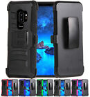 for Samsung Galaxy S9 Plus G965 Hybrid Armor Case Cover Holster+PryTool