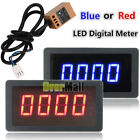 1PC 4 Digital LED Tachometer RPM Speed Meter + Hall Proximity Switch Sensor NPN