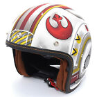 HJC Red/White IS-5 Star Wars X-Wing Fighter Pilot Open Face Motorcycle Helmet $179.99 USD