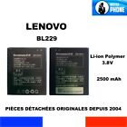 BATTERIE ORIGINE LENOVO BL229 BL 229 2500mAh 3,8V 9,5Wh GENUINE BATTERY OEM