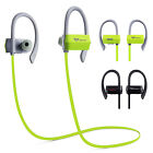 Sport Bluetooth Headphones Wireless Headset Sweatproof For iPhone 4 5 6 Android