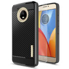 For Motorola Moto E4/E4 Plus Shockproof Rugged Case Cover+Glass Screen Protector