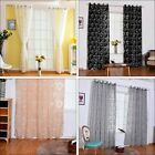 1PC Wrap Scissors Shade Circle Bubble Polyester Curtain Home Decor Curtains JAP