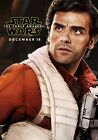STAR WARS; THE FORCE AWAKENS Movie PHOTO Print POSTER Poe Dameron Oscar Isaac 12 £4.99 GBP