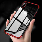 Luxury Ultra Slim Shockproof Bumper Case Cover for Apple iPhone X 8 7 6S Plus S9