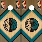 Dallas Mavericks Cornhole Wrap NBA Wood Game Board Skin Set Vinyl Decal CO588 on eBay