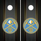 Denver Nuggets Cornhole Wrap NBA Game Board Skin Set Vinyl Decal Art CO597 on eBay