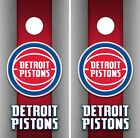 Detroit Pistons Cornhole Wrap NBA Game Board Skin Set Vinyl Decal Decor CO604 on eBay
