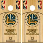Golden State Warriors Cornhole Wrap NBA Court Game Skin Set Vinyl Decal CO608 on eBay