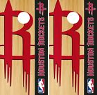Houston Rockets Cornhole Wrap NBA Logo Game Board Skin Set Vinyl Decal CO613 on eBay