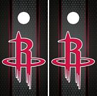 Houston Rockets Cornhole Wrap NBA Game Board Skin Set Vinyl Decal Art CO615 on eBay