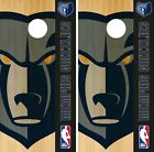 Memphis Grizzlies Cornhole Wrap NBA Logo Game Board Skin Set Vinyl Decal CO637 on eBay