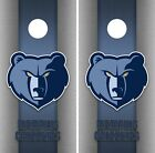 Memphis Grizzlies Cornhole Wrap NBA Game Board Skin Set Vinyl Decal Decor CO640 on eBay