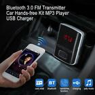 Car Charger USB Cigarette Lighter Socket Adapter Bluetooth Handsfree Kit FM $7.15 USD on eBay