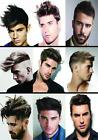 Barbers Shop Mens Hairdressers Hair Collage Customised poster A2, A1, A0 sizes