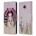 HEAD CASE DESIGNS WOODLAND ANIMALS LEATHER BOOK WALLET CASE FOR MOTOROLA PHONES