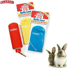 *NEW* CLASSIC DRINKING WATER BOTTLE SMALL ANIMAL RABBIT GUINEA PIG W/ COVER