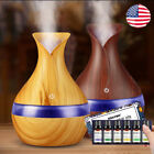 USB 300ml LED Air Humidifier Electric Aroma Essential Oil Diffuser Ultrasonic
