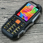 Waterproof 3G Military Rugged Mobile Cell Phone Dual SIM Long standby for elder