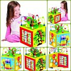 5in1 Bead Maze Cube Activity Center Multifunctional W/ Turning Base For Toddlers