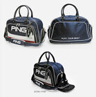 PING Golf Boston Bag Navy Khaki 17 Sporty LF Carry with shoulder belt Authentic