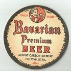 4  Mount Carbon Bavarian Premium  Beer Coasters 4""
